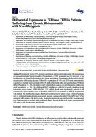 prikaz prve stranice dokumenta Differential Expression of TFF1 and TFF3 in Patients Suffering from Chronic Rhinosinusitis with Nasal Polyposis