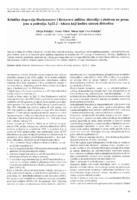 prikaz prve stranice dokumenta Klinička ekspresija Duchenneove i Beckerove mišićne distrofije s obzirom na promjene u području Xp21.2 - lokusu koji kodira sintezu distrofina
